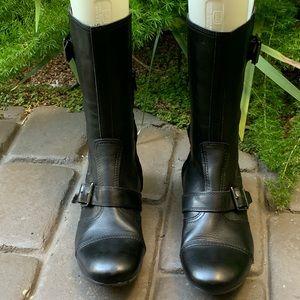 "ASH ""SHOCK"" Women's Boot Flat Rubber Sole Size 8"